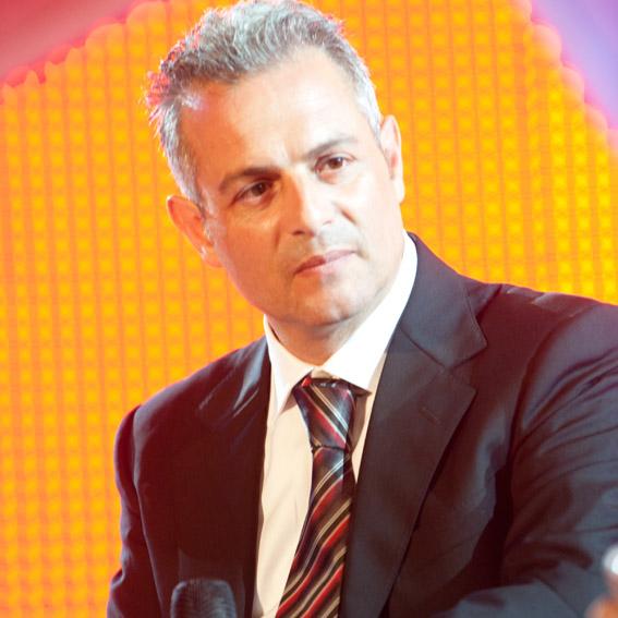 Piero Muscari, direttore artistico di fege, festival dell'editoria e del giornalismo emergente