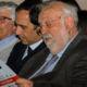 Giovanni Greco, sindaco di Castrolibero e Gino Mirocle Crisci, Rettore dell' Università della Calabria